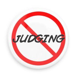 no judging